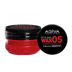 Agiva Hair Styling Wax 05 Gum Wax Red (90ml)