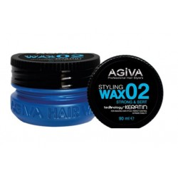 Agiva Hair Styling Wax 02 Strong Turquoise (90ml)