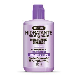 Gota Dourada Straightened Hair With Keratin Leave-in Cream (320ml)
