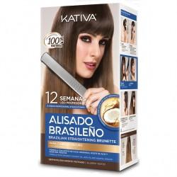Kativa Kit Brazilian Straightening Brunette