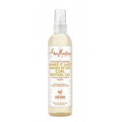 Shea Moisture Coconut Custard Make It Last Wash N' Go Curl Revival Oil (237ml)