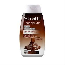Stratti Chocolate & Keratin Shampoo (400ml)