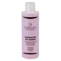 D'Orleac Nail Polish Remover with Acetone (200ml)